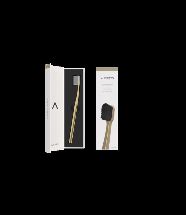 Aurezzi 24K Gold Toothbrush Black