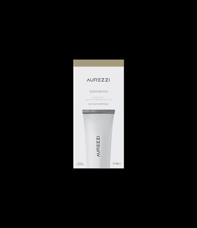 Aurezzi 24K Gold Toothpaste White