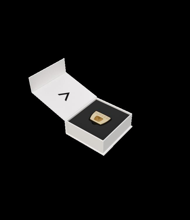 Aurezzi 24K Gold Zahnbürstenhalter