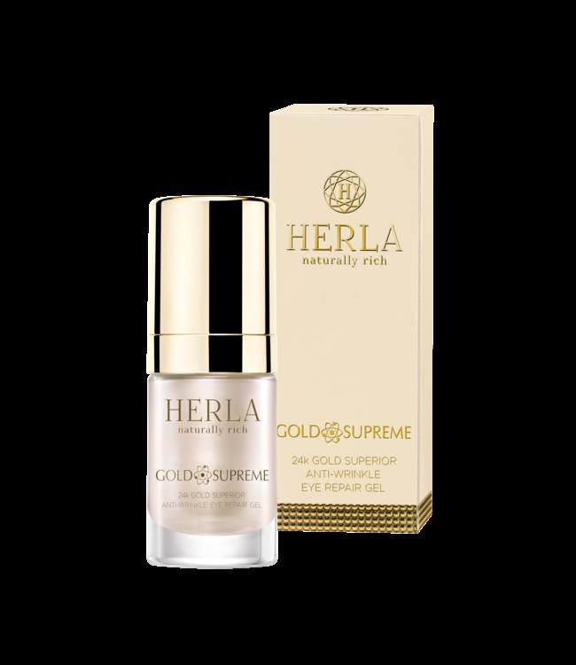 Herla 24K Gold Superior Anti-Wrinkle Eye Repair Gel
