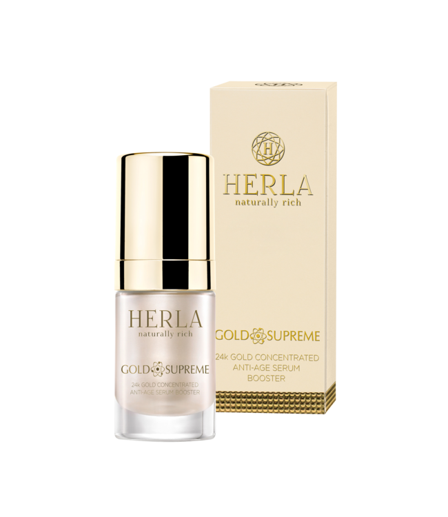 Herla 24 K Gold Concentrated Anti-Age Serum Booster