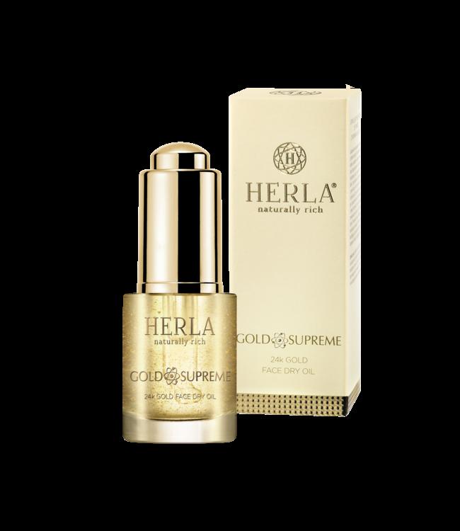 Herla Face Dry Oil - 24K Gold Gesichtsöl