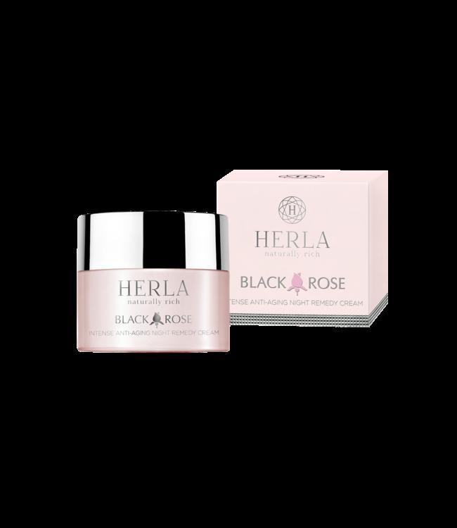 Herla BLACK ROSE Intense Anti-Aging Night Remedy Cream