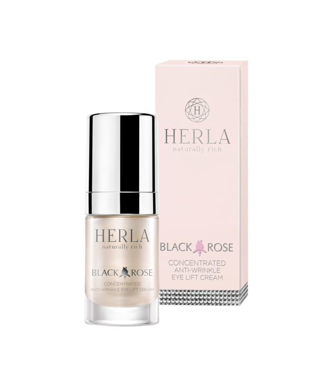 Herla BLACK ROSE Concentrated Anti-Wrinkle Eye Lift Cream