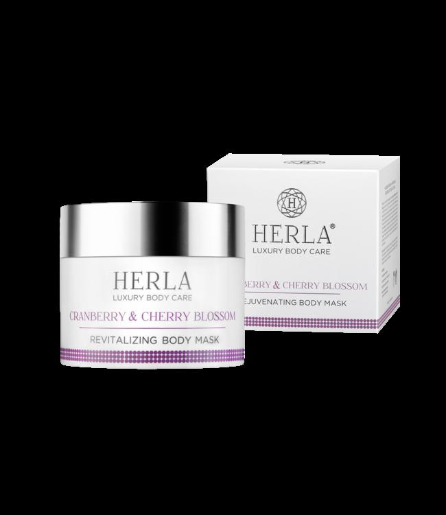 Herla Cranberry & Cherry BlossomRevitalizing Body Mask