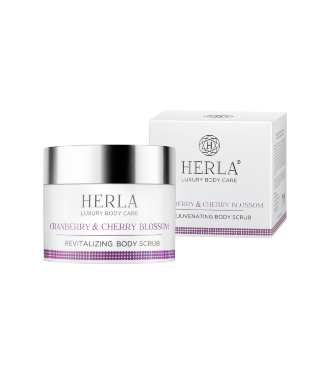 Herla Cranberry & Cherry BlossomRevitalizing Body Scrub