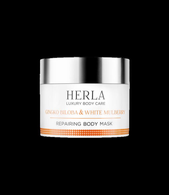 Herla Gingko Biloba & White MulberryRepairing Body Mask