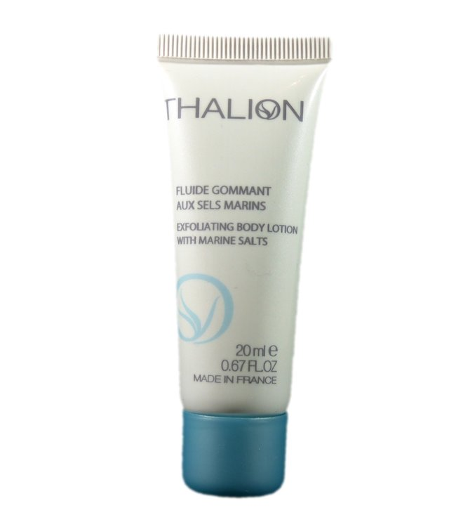 THALION Exfoliating Body Lotion with marine salts