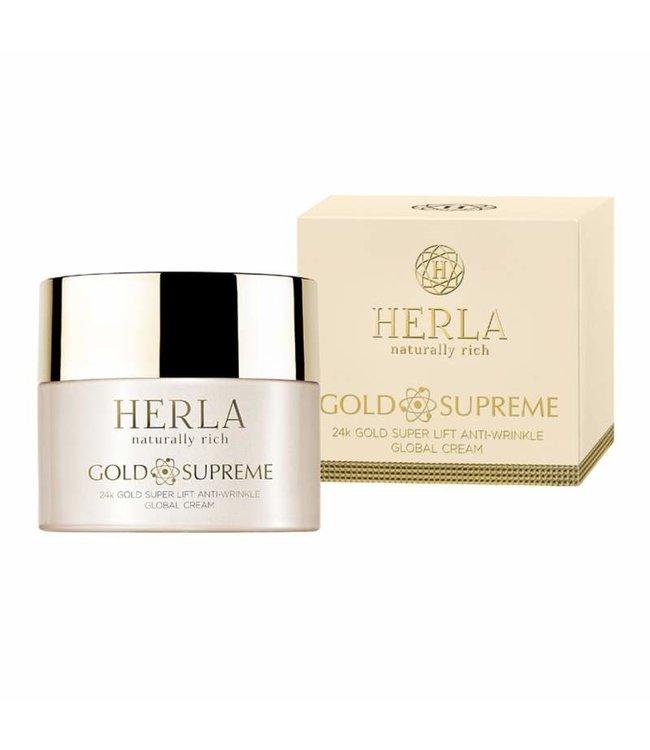 Herla 24K Gold Super Lift Anti-Wrinkle Global Creme