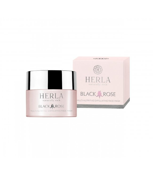 Herla BLACK ROSE Multi-Nutritive Face Exfoliating Mask