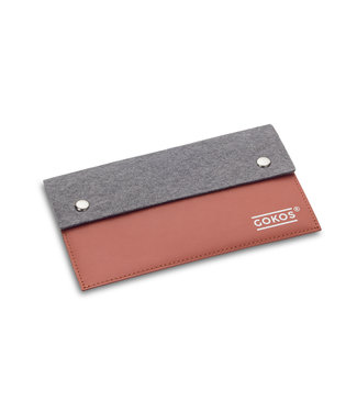 GOKOS Wallet Leather Color Toffee
