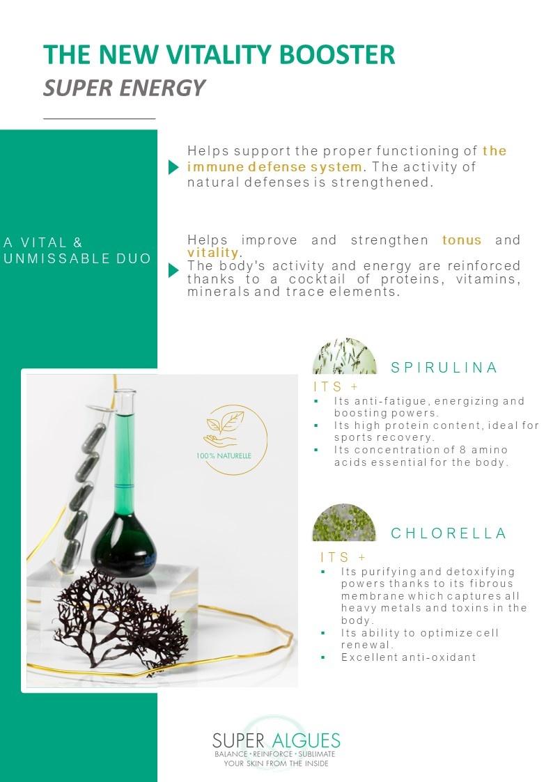 spirulina chlorella super food