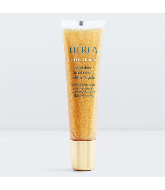 Herla Lip Oil Serum - 24K Gold Lippenserum