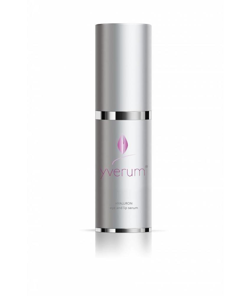yverum HYALURON eye and lip serum, 15 ml