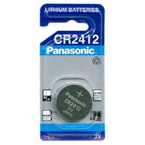 CR2412 Lithium knoopcel 3V