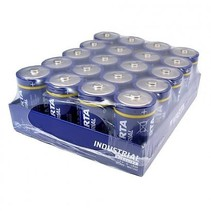LR20 - D industrial Alkaline Batterijen 20 stuks