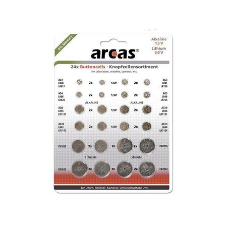 Arcas Knoopcellen assortiment AG - CR
