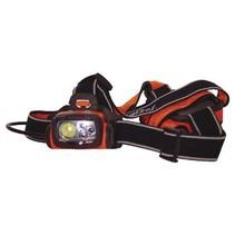 Hoofdlamp 4 LED Oranje / Zwart