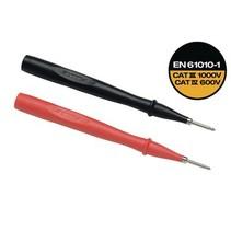 Test probes red/black, 2 mm