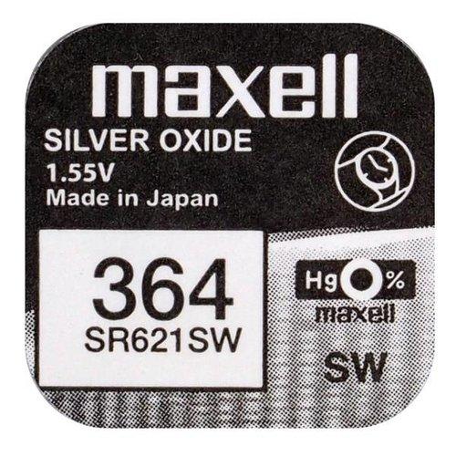 Maxell SR621SW horloge batterij 364 Maxell