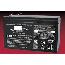 12V 9Ah AGM Loodaccu MK Battery