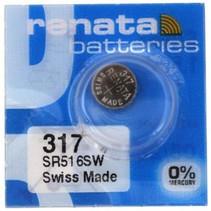 SR516SW Horloge batterij 317 Renata