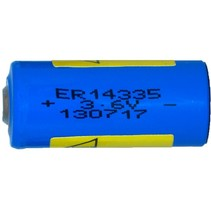 ER14335  3,6 Volt 2/3 AA lithium
