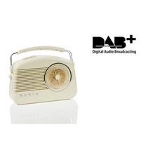 Draagbare DAB+ Radio FM / AM / DAB / DAB+ AUX Beige