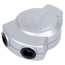 Digitale Audio Adapter TosLink Female - 2x TosLink Female Zilver
