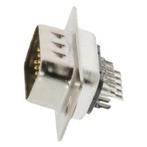 Computer Plug D-Sub 15-Pins HD Male Zilver