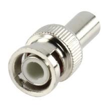 Verloopstekker CCTV-Security BNC 6 mm Male Zilver