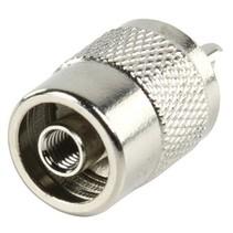 Connector UHF Male Metaal Zilver
