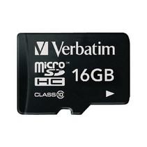 microSDHC Geheugenkaart Klasse 10 16 GB