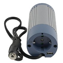 Gemodificeerde Sinus Omvormer 24 VDC - AC 230 V 100 W F (CEE 7/3) / USB