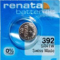 392  horloge batterij 384  - SR41W Renata