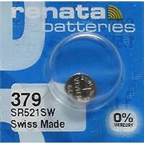 SR521SW Horloge batterij 379 Renata