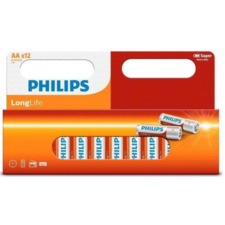 Philips 12 x Penlite AA LongLife Philips