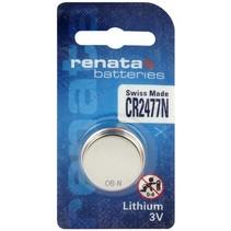 CR2477N lithium knoopcel batterij 3V Renata