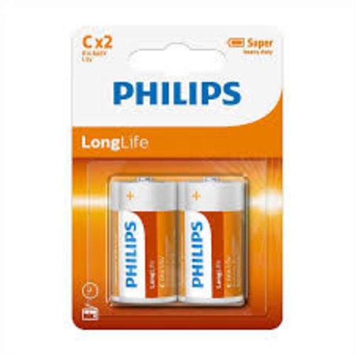 Philips Philips C Long Life LR14 - 2 Stuks