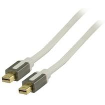 Mini DisplayPort Kabel Mini-DisplayPort Male - Mini-DisplayPort Male 2.00 m Wit