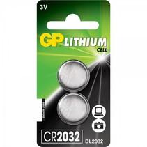 CR2032 lithium Knoopcel 2 Stuks 3V GP