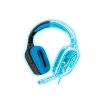 Headset Microfoon Over-Ear USB Extern 2.33 m Zwart/Blauw