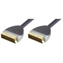 SCART Kabel SCART Male - SCART Male 1.00 m Zwart