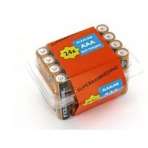 24 x AAA mini-penlite alkaline Industrial