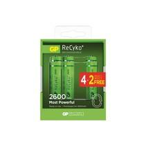 Penlite oplaadbaar 2600mAh 6 stuks GP Recyko+