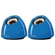 Speaker 2.0 USB 3.5 mm 6 W Blauw