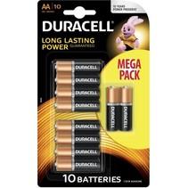 10 x Duracell Penlite batterijen