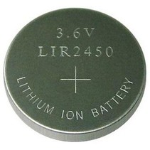 LIR2450 oplaadbare knoopcel