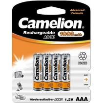 Camelion AAA mini penlite 1000mAh oplaadbaar 4 stuks