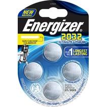CR2032 Batterij blister 4 stuks